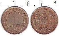 Изображение Монеты Великобритания Борнео 1 цент 1941 Медно-никель XF