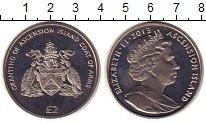 Изображение Монеты Остров Вознесения 2 фунта 2013 Медно-никель UNC