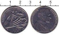 Изображение Монеты Ватикан 100 лир 1988 Сталь UNC-