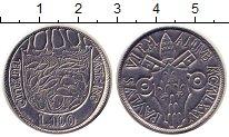 Изображение Монеты Ватикан 100 лир 1975 Сталь UNC-