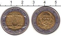 Изображение Монеты Ватикан 500 лир 1993 Биметалл UNC-