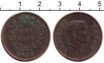 Изображение Монеты Саравак 1 цент 1930 Бронза XF