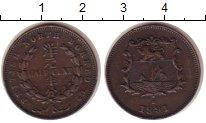 Изображение Монеты Борнео 1/2 цента 1891 Бронза XF МД Хитон
