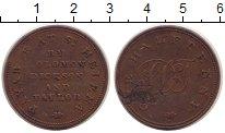 Изображение Монеты Остров Святой Елены 1/2 пенни 1821 Медь VF