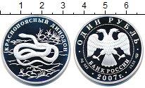 Изображение Монеты Россия 1 рубль 2007 Серебро Proof-
