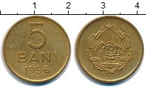 Изображение Монеты Румыния 5 бани 1956  XF