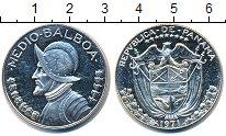 Изображение Монеты Панама 1/2 бальбоа 1971 Серебро XF