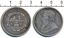 Изображение Монеты ЮАР 2 шиллинга 1896 Серебро XF Пауль  Крюгер.