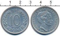 Изображение Монеты Дания 10 крон 1979 Медно-никель XF