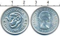 Изображение Монеты Австралия 1 шиллинг 1963 Медно-никель XF
