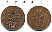 Изображение Монеты Остров Джерси 1/12 шиллинга 1947 Медь XF Георг VI.