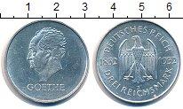 Изображение Монеты Веймарская республика 3 марки 1932 Серебро UNC-