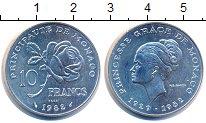 Изображение Монеты Монако 10 франков 1982  UNC-
