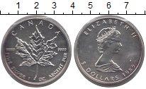 Изображение Монеты Канада 5 долларов 1989 Серебро UNC