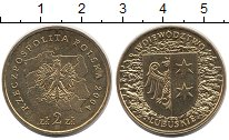 Изображение Монеты Польша 2 злотых 2004 Латунь UNC- Люблинское воеводств