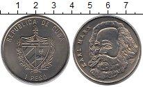 Изображение Монеты Куба 1 песо 2002 Медно-никель UNC-
