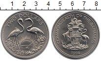 Изображение Монеты Багамские острова 2 доллара 1974 Медно-никель UNC-