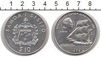Изображение Монеты Самоа 10 долларов 1979 Серебро UNC-