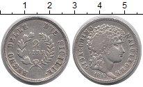 Изображение Монеты Италия Сицилия 2 лиры 1813 Серебро XF