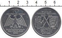Изображение Монеты Германия ФРГ 10 марок 1995 Серебро UNC