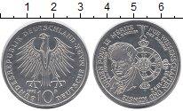 Изображение Монеты ФРГ 10 марок 1992 Серебро UNC `150 - летие  Ордена