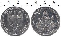 Изображение Монеты ФРГ 10 марок 1990 Серебро UNC