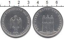 Изображение Монеты ФРГ 10 марок 1989 Серебро UNC