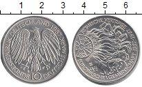 Изображение Монеты ФРГ 10 марок 1987 Серебро UNC