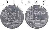 Изображение Монеты Германия ФРГ 10 марок 2000 Серебро UNC