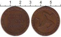 Изображение Монеты Остров Мэн 1/2 пенни 1831 Медь XF