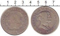 Изображение Монеты Лукка 5 франков 1808 Серебро VF