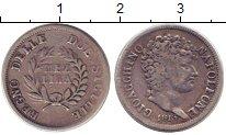 Изображение Монеты Сицилия 1/2 лиры 1813 Серебро VF Наполеон