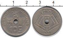 Изображение Монеты Бельгия 10 сентим 1939 Медно-никель XF