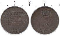 Изображение Монеты Дания 2 скиллинга 1801 Серебро VF