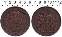 Изображение Монеты Бельгия Медаль 1861 Медь XF