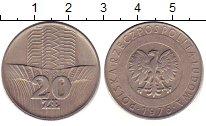 Изображение Дешевые монеты Польша 20 злотых 1976 Медно-никель VG