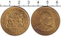 Изображение Дешевые монеты Кения 10 центов 1991 Латунь XF-