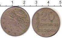 Изображение Дешевые монеты Бразилия 20 сентаво 1970 Медно-никель VF-