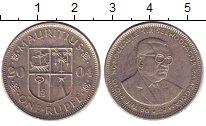 Изображение Барахолка Маврикий 1 рупия 2004 Медно-никель XF-