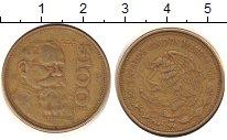 Изображение Барахолка Мексика 100 песо 1987 Медно-никель