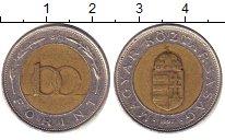 Изображение Дешевые монеты Венгрия 100 форинтов 1997 Биметалл VG