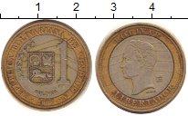 Изображение Дешевые монеты Венесуэла 1 боливар 2007 Биметалл XF-