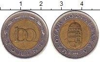 Изображение Барахолка Венгрия 100 форинтов 1998 Биметалл VF