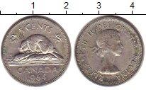Изображение Дешевые монеты Канада 5 центов 1964 Медно-никель XF- Бобр