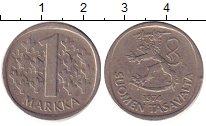 Изображение Барахолка Финляндия 1 марка 1974 Медно-никель XF
