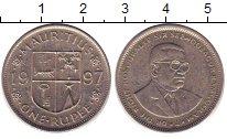 Изображение Дешевые монеты Индия 1 рупия 1997 Медно-никель XF-