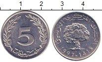 Изображение Дешевые монеты Кипр 5 центов 1997 Медно-никель XF+