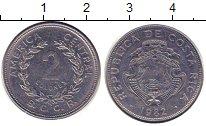 Изображение Барахолка Коста-Рика 2 колонес 1982 Медно-никель XF