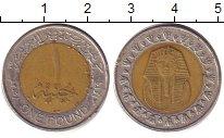 Изображение Барахолка Египет 1 фунт 2000 Биметалл XF