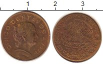 Изображение Дешевые монеты Мексика 10 сентаво 1971 Медь XF-